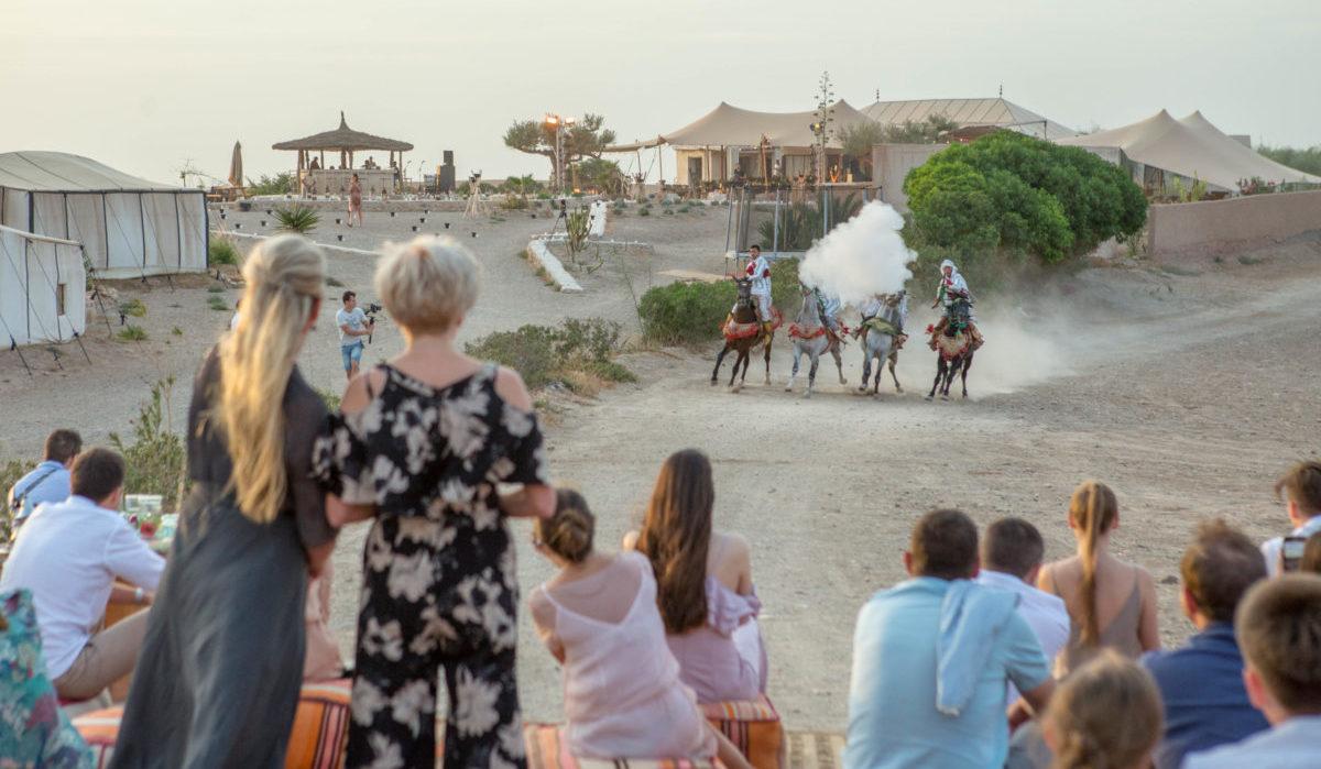 Fantasia soiree event voyage entreprise Destination Evasion Maroc